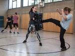 Selbstverteidigung: Training38